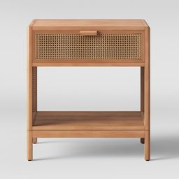 Minsmere Caned Accent Table Natural Brown - Opalhouse | Target