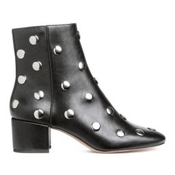 H & M - Ankle Boots with Studs - Black   H&M (US)