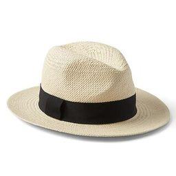 Gap Womens Panama Resort Hat Natural Size M/L | Gap US