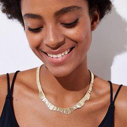 LOFT Metallic Fringe Necklace   LOFT