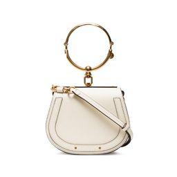 Chloé white Nile small bracelet bag | Browns Fashion