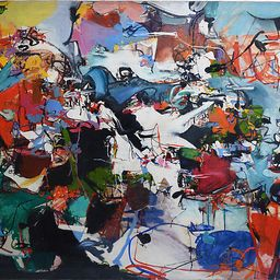 Abstract Expressionist Composition - Curated Gallery Art   One Kings Lane