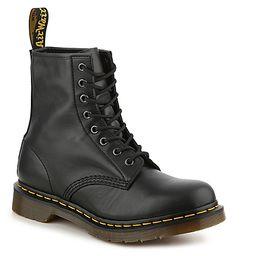 Dr. Martens 1460 Combat Boot - Women's - Black Leather   DSW