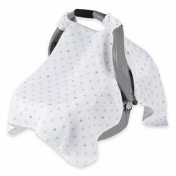 aden® by aden + anais® Car Seat Canopy in Dove   buybuy BABY