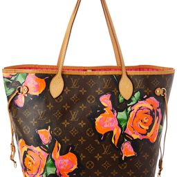 Louis Vuitton Limited Edition Stephen Sprouse Roses Monogram Canvas Neverfull MM | Ruelala