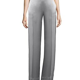 Wide-Leg Satin Pants | Saks Fifth Avenue
