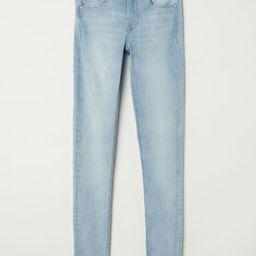 H & M - Super Skinny Regular Jeans - Blue   H&M (US)