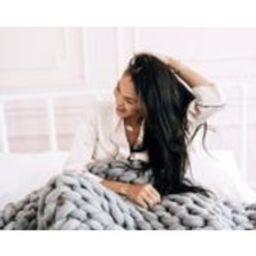 Merino Wool Thick Knit Blanket | Etsy (US)