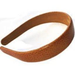 1 wide Leather headband Genuine calf skin pebbled leather headband one inch leather hairband 1 inch womens headband | Etsy (US)