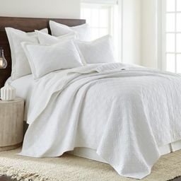 Levtex Home Sasha Twin Quilt in White | Bed Bath & Beyond