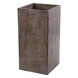 Dimond Home Al Fresco Cement Planter, Short, Large | Houzz