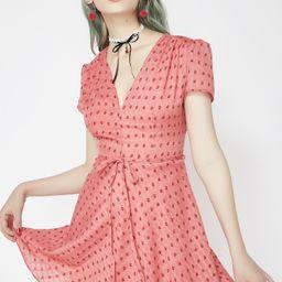 Glamorous Spillin' Tea Fit N' Flare Dress   Dolls Kill