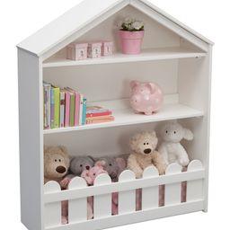 Bianca White Serta Happy Home Two-Shelf Storage Bookcase   Zulily