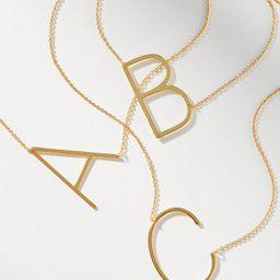 Monogram Pendant Necklace   Anthropologie (US)