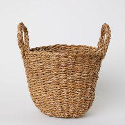 H & M - Braided Storage Basket - Beige   H&M (US)