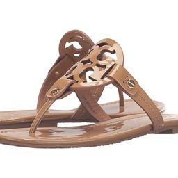 Tory Burch Miller Flip Flop Sandal (Sand) Women's Shoes | Zappos