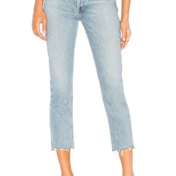 Riley High Rise Straight Crop   Revolve Clothing (Global)