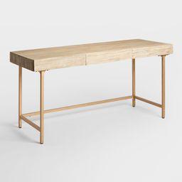 Driftwood Cristela Desk: Natural by World Market | World Market