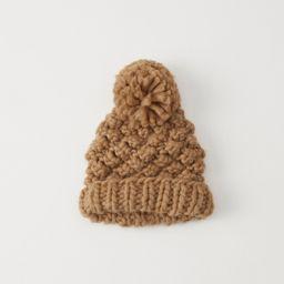 Chunky Knit Pom Beanie   Abercrombie & Fitch US & UK