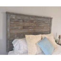 Rustic Wooden Headboard Blue  Grey  Hand Distressed | Etsy (US)