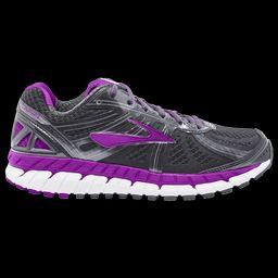 Womens Brooks Ariel 16 - Anthracite/Purple Cactus Flower/Primer Grey   Footlocker US