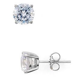 Aqua Sterling Silver Stud Earrings - 100% Exclusive | Bloomingdale's (US)