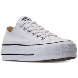 Converse Women's Chuck Taylor Lift Casual Sneakers from Finish Line | Macys (US)