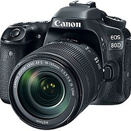 Canon EOS 80D DSLR Camera with 18-135mm Lens | QVC