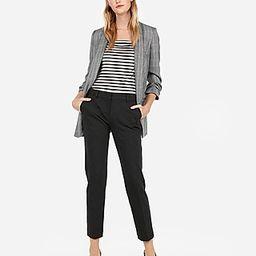Express Womens Striped Ribbed Puff Sleeve Tee | Express