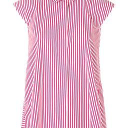 Aspesi striped sleeveless blouse - Red | FarFetch US