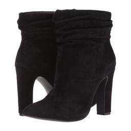 Kristin Cavallari - Kane (Black Kid Suede) Women's Dress Boots | Zappos