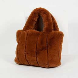 Dolce Faux Fur Tote by Free People   Free People UK