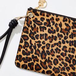 LOFT Leopard Print Wristlet | LOFT