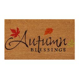 'Autumn Blessings' Doormat | zulily