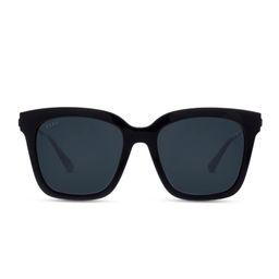 BELLA - BLACK + GREY + POLARIZED (Polarized / Black) | DIFF Eyewear