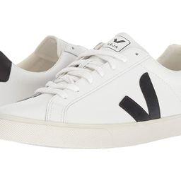 VEJA Esplar (Extra-White/Black Leather) Athletic Shoes | Zappos