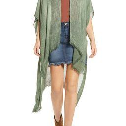 Women's Free People Day Dream Kimono, Size One Size - Green | Nordstrom