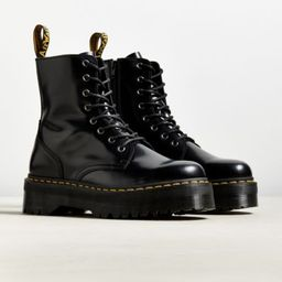 Dr. Martens Jadon 8-Eye Boot - Black 8 at Urban Outfitters | Urban Outfitters (US and RoW)