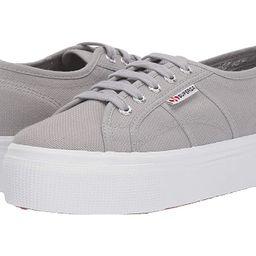 Superga 2790 Acotw Platform Sneaker (Light Grey) Women's Lace up casual Shoes   Zappos