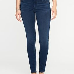 Old Navy Womens Mid-Rise Rockstar 24/7 Jeans For Women Rinse Size 0 | Old Navy US