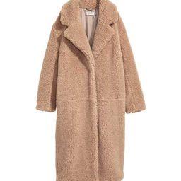 Long Pile Coat | H&M (US)