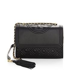 Fleming Small Leather Shoulder Bag   Saks Fifth Avenue