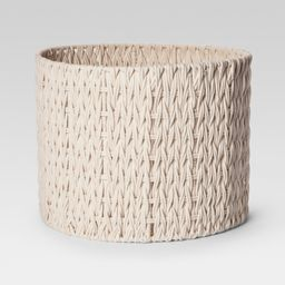 Round Woven Basket Large - Cream (Ivory) - Project 62 | Target