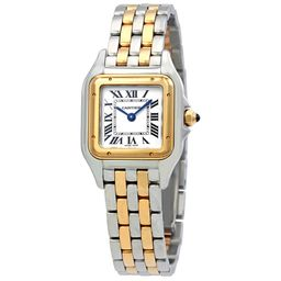 Cartier Panthere de Cartier Ladies Two-Tone Stainless Steel and 18K Yellow Gold Watch W2PN | Jomashop.com & JomaDeals.com