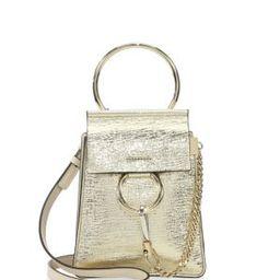 Faye Mini Bracelet Leather Shoulder Bag | Saks Fifth Avenue