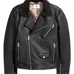 Leather Biker Jacket | H&M (US)