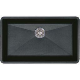 "Blanco 440149 Precis 32"" Silgranit Granite Composite Undermount Super Single Bow | Build.com, Inc."