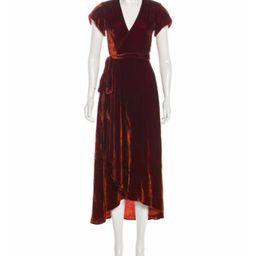 Christy Dawn Maxi Velvet Dress orange Christy Dawn Maxi Velvet Dress | The RealReal