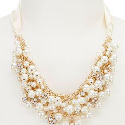Gemma Layne Ribbon & Faux-Pearl Statement Necklace | Dillards Inc.