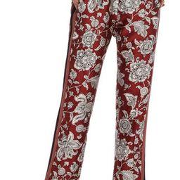 Women's Scotch & Soda Print Satin Pants, Size Medium - Pink | Nordstrom